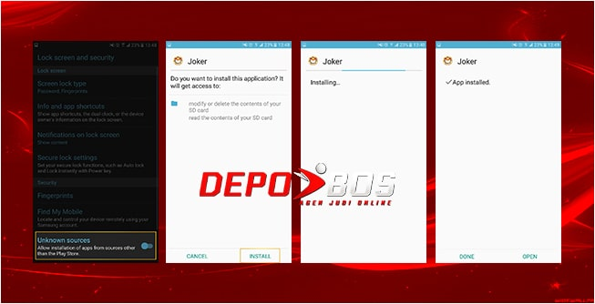 step download android joker338 kedua