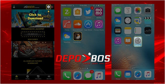 step download ios joker338 pertama